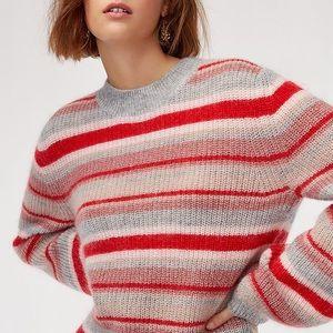 Aritzia Little Moon Gardenia striped sweater